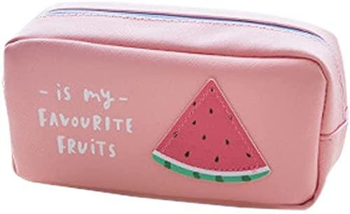 LF- Topdo - Estuche de almacenamiento para lápices, 1 unidad, bonito paquete de frutas, para estudiantes de primaria, para hombres, mujeres