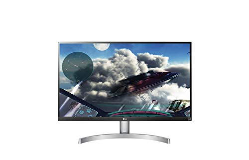 LG 27UK600-W 68,58 cm (27 Zoll) UHD 4K IPS Monitor (HDR10, AMD Radeon FreeSync, 99%sRGB, News Cinema Screen), schwarz weiß