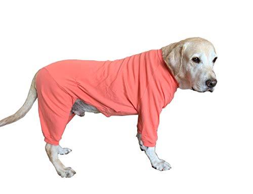BT Bear - Pijama de Perro Grande, Protege Las articulaciones Anti-Pelo elástico de Cuatro Patas para Perro Dormir Pijama para Perros medianos y Grandes Perros Labrador Golden Retriever Samoyed