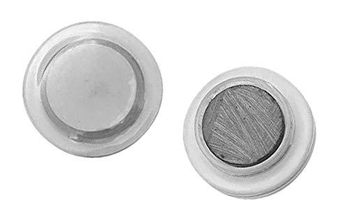 Set van 48 whiteboard magneten (2 cm, transparant)