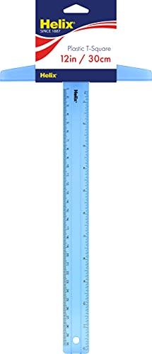 Helix plastic t-square 12 inch / 30cm (20002)