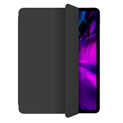 ZOYU Case for iPad Pro11 2020(2nd Generation),Strong Magnetic Trifold Stand Cover,Support Apple Pencil Pair & Charging,Auto Sleep/Wake Fit iPad Pro 11 inch 2020 (Black)