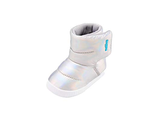 Native Shoes Chamonix Hologram Boot (Infant/Toddler) Hologram/Shell White 4 Toddler M