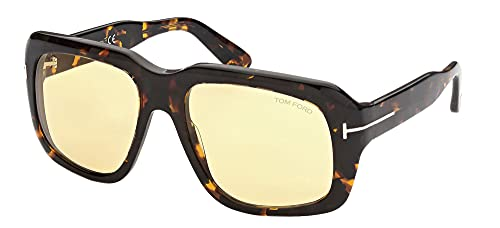 Tom Ford Gafas de Sol BAILEY-02 FT 0885 Tortoise/Brown Yellow 57/18/140 mujer