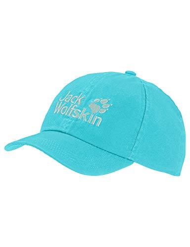 Jack Wolfskin Unisex Kinder Kids Baseball Cap Baseballkappe, Blue Capri, ONE Size (49-55CM)