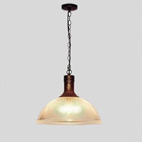 Wlnnes Nórdico de la personalidad creativa retro iluminación de la lámpara de Granja de estilo americano del país pendiente de cristal soplado a mano Luz de techo de cristal claro for el Isla