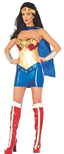 SECRET WISHES DC Comics Wonder Woman Classic Deluxe Kostüm - - Small