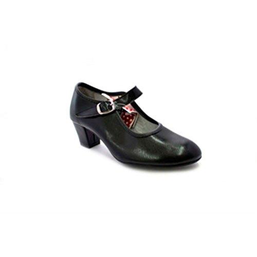 Zapato Baile tacón niña señora Carolina Guillo