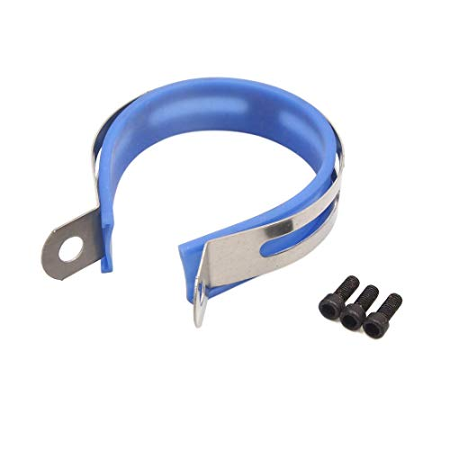 Abrazadera de suspensión de silenciador universal para moto