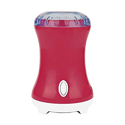 BLLXMX Electric Herb Grinder Pollen Spices Coffee,Grain Mills,Electric Spice Grinders (Color : Pink)