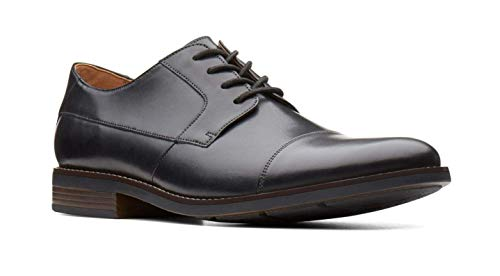 Clarks Becken Cap Leather Shoes ...