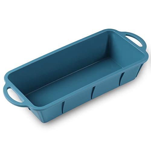 iheyfill Silicona para Pan-Moldes de Panadería Tostadas Rectangular,molde de horno de silicona,Molde Antiadherente para Pan, Tostadas