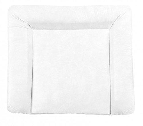 Julius Zöllner 2220129900 coton, polyester blanc plat feuille pour changement de couche – Derapant pour changement de couche (coton, polyester, blanc, plat, monótono, lavage machine, 750 mm)