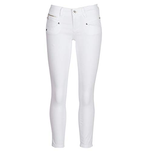 Freeman T. Porter Alexa Cropped Cavi Stretch Bright White Größe L