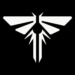 DECAL ADDICTION, INC | Last Of Us Firefly Icon WHITE Vinyl Car/Laptop/Window/Wall Decal