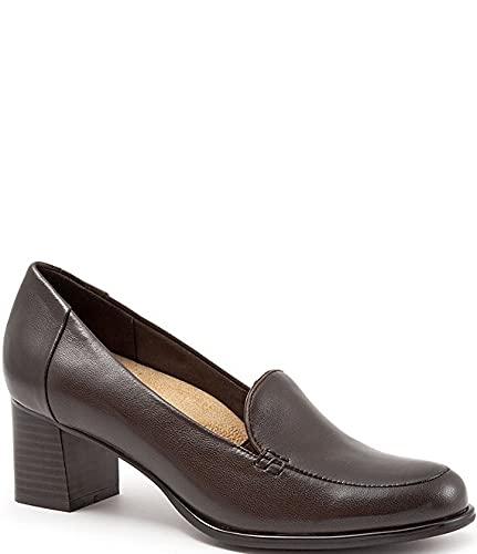 [トロッターズ] シューズ 28.0 cm パンプス Quincy Leather Loafer Pumps Dark Brown レディース [並行輸入品]