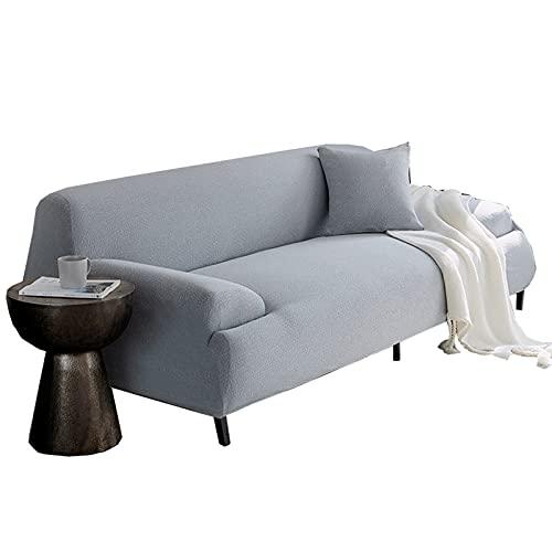 WANY Hoch Strecken Sofa-abdeckungen,Dick Sofa Slipcover Möbelschutz,Elastisch Stoff Couch Slipcover,1 2 3 4 Sitzer-J 4 sitzer