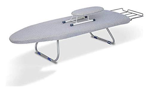 Tablero de planchado Estaciones de trabajo, Plegable con estante de planchado Ropa para personas con ropa de escritorio Multifunción Ajustable Altura Tienda de planchado Mesa de planchado 2021210