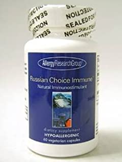 Allergy Research Group - Russian Choice Immune 25 mg 60 vcaps [Health and Beauty]