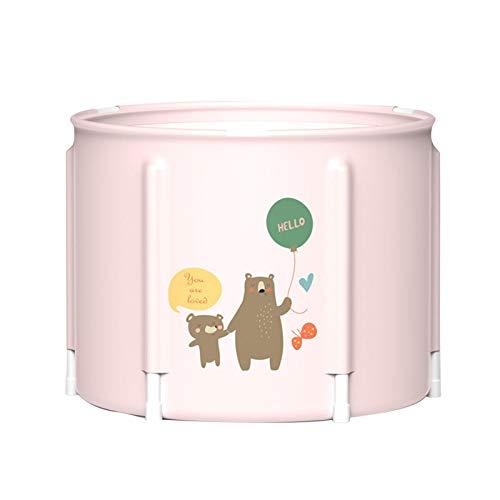 Bañera Plegable portátil para bebés Bañera ecológica Baño SPA Bañera de remojo Independiente Plegable Fácil de Instalar para Ducha, Mantenimiento eficiente de la Temperatura, Ideal para baño Caliente