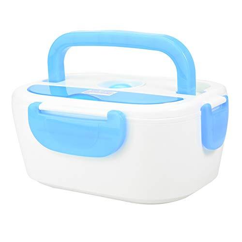 Fiambrera eléctrica Fiambrera eléctrica Recipiente de comida con calefacción Fiambrera eléctrica con calefacción Fiambrera portátil Fiambrera con calefacción para coche(blue)