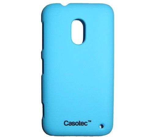 Casotec Ultra Slim Hard Shell Back Case Cover w/Screen Protector for Nokia Lumia 620 - Ocean Blue
