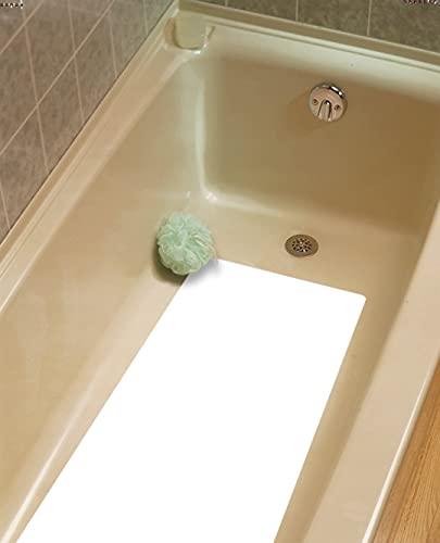 16'x34' Peel and Stick Bathtub Mat Adhesive Hotel Non Slip Bath Tub Mat