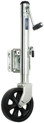 "Fulton XP15L 0101 Swivel Trailer Tongue Jack with 8"" Wheel - 1500 Lbs. Capacity"