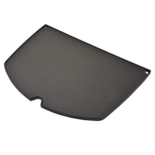Stanbroil Cast Iron Grill Griddle for Weber Q300 Q320 Q3000 Q3100 Q3200 Series Gas Grills, Replacement Part for Weber 6506