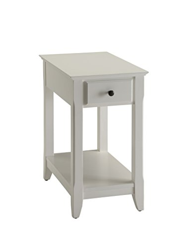 ACME Furniture Acme 82842 Bertie Side Table, White, One Size