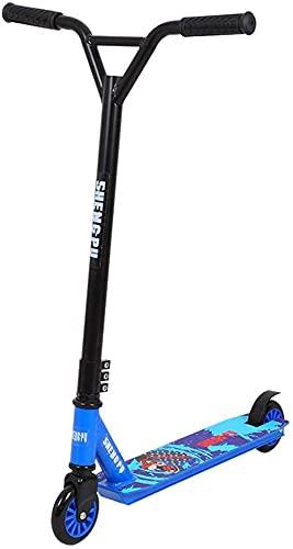 RSTJ Truco Durante 8 años niños y niñas de Nivel de Entrada - Mejor Truco para Principiantes para BMX Trucos de Estilo Libre (Color : Blue)