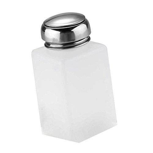 Pump Dispenser zum dosierten Auftragen von Nagellackentferner, Pumpflasche, Pumpspender, 200 ml, 1...