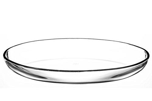 Pasabahce Borcam Tepsi 59774 Plat ovale en verre 44 x 26 cm