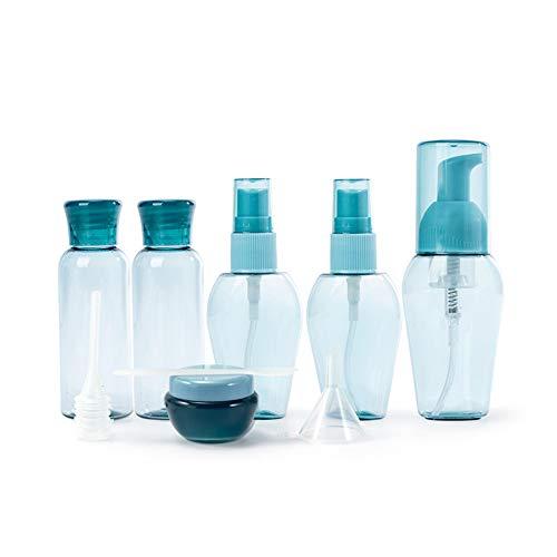 Leere nachfüllbare Creme Lotion Pumpflasche Tragbare Reise Kosmetikflaschen Behälter Topf für Duschgel Seren Körperlotion Shampoo Toilettenartikel Flüssige Behälter