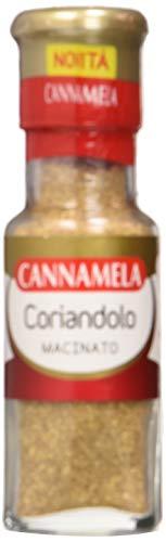 Cannamela, Linea Maxi Oro, Coriandolo Macinato, Adatto a Zuppe, Verdure, Selvaggina, Marinare Pesce, Cous Cous e Piatti Orientali, 6 x 39 g