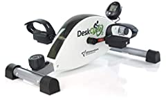 The DeskCycle-2 is the same top quality bike as the DeskCycle with the addition of the adjustable leg, a larger LCD 6-function display and a fresh new logo. Set the maximum pedal height to 10 inches like the DeskCycle, or drop it down to 9 inches to ...