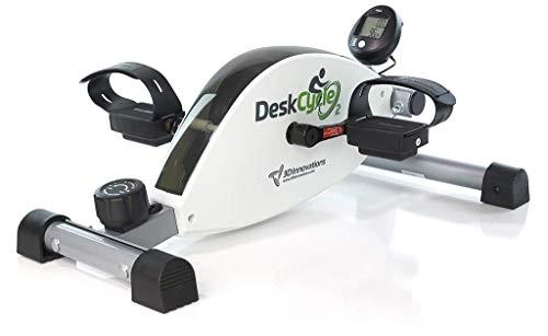 DeskCycle 2 Under Desk Exercise Bike and Pedal Exerciser (Renewed)