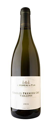 J. Moreau & Fils A.O.C. Chablis Premier Cru Vaillons Vino Blanco - Borgoña, Francia - 75 cl.