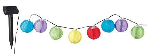 Happy People 45150 Tib Heyne – Solar-Party-Fairy Lumières, 10 cm, 1 x Batterie NiMH 600 mAh, 10 LED Blanc