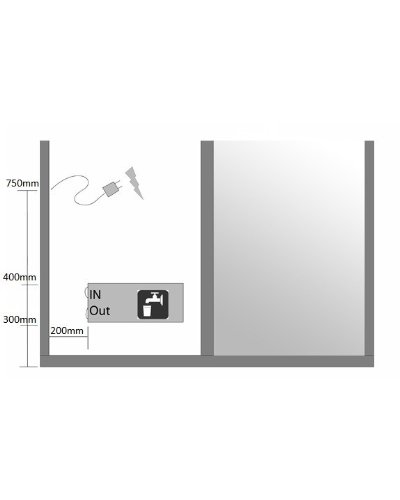 Home Deluxe White Luxory XL Duschtempel, inkl. Dampfsauna und komplettem Zubehör - 6