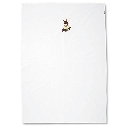 Sterntaler UV-Decke Esel Emmi, Alter: Für Babys ab der Geburt, 70 x 100 cm, Weiß