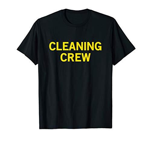 Cleaning Crew Uniform T-shirt Concert Venue Custodial Staff