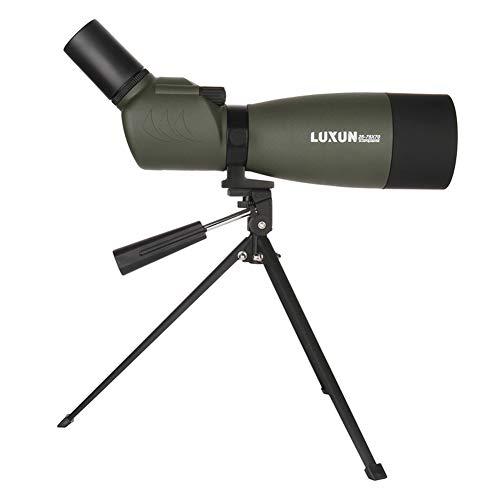 DZSF Télescopes 25-75X 70mm Spotting Scope Zoom BAK4 Birdwatch Telescope Jumelles Angled monoculaire pour Les Enfants