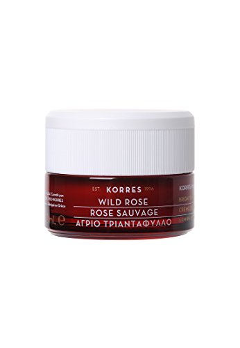 Korres Wild Rose Tagescreme für strahlenden Teint und erste Falten - normale bis Mischhaut,1er Pack (1 x 40 ml)