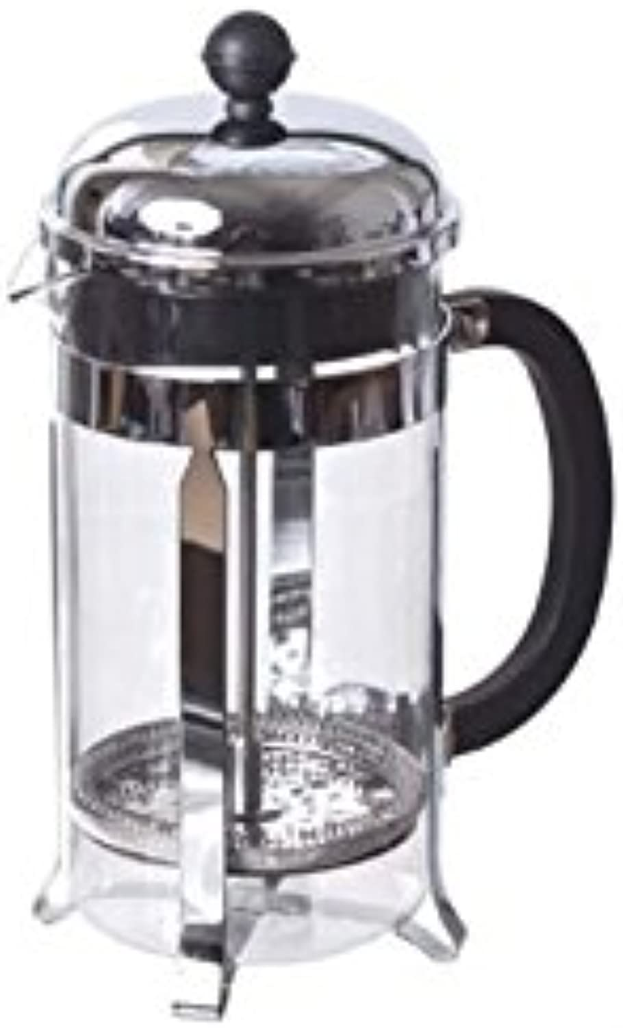 French Press - Stainless 8-Cup (Glass)