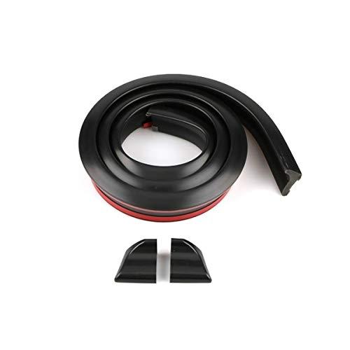 Auto Rear Spoiler 1,5m Universal Tape Schwarz Tail Decoration, Kofferraumspoiler Heckspoiler Spoiler Lippe
