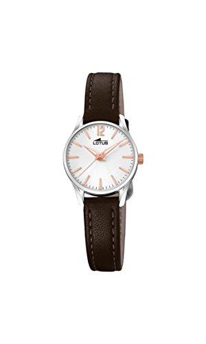 Lotus Watches Reloj Análogo clásico para Mujer de Cuarzo con Correa en Cuero 18573/2