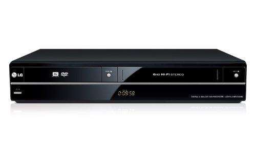 LG RCT699H Lettore e Registratore DVD e VHS con Sintonizzatore Digitale Terrestre, Full HD Upscaling, Porta USB