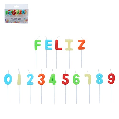 Velas De Cumpleaños De Colores   Decoración Números Y Letras Para Tarta De Aniversario   Artículos Originales Para Niños, Fiestas Y Celebraciones Infantiles