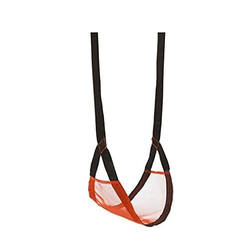 LZL Show Ultralight portátil para niños Silla Colgante de Malla de Nylon para Columpios sacados de Bolsas para Jardines al Aire Libre (Color : Orange)